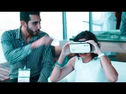 Virtual reality at Cityscape Global in Dubai