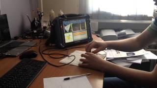 Демонстрация дефектоскопа на фазированных решетках Omniscan MX2(Технический специалист по дефектоскопии демонстрирует и рассказывает основные функции прибора дефектоск..., 2014-05-29T16:10:05.000Z)