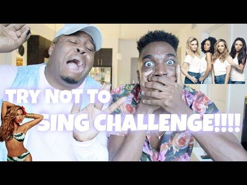 TRY NOT TO SING CHALLENGEWZACHARY CAMPBELL