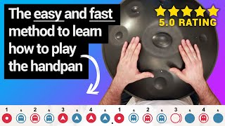 Handpan lessons - A nęw method to learn fast and have fun