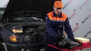 Så byter du luftfilter, motor på BMW X5 E53 [Guide]