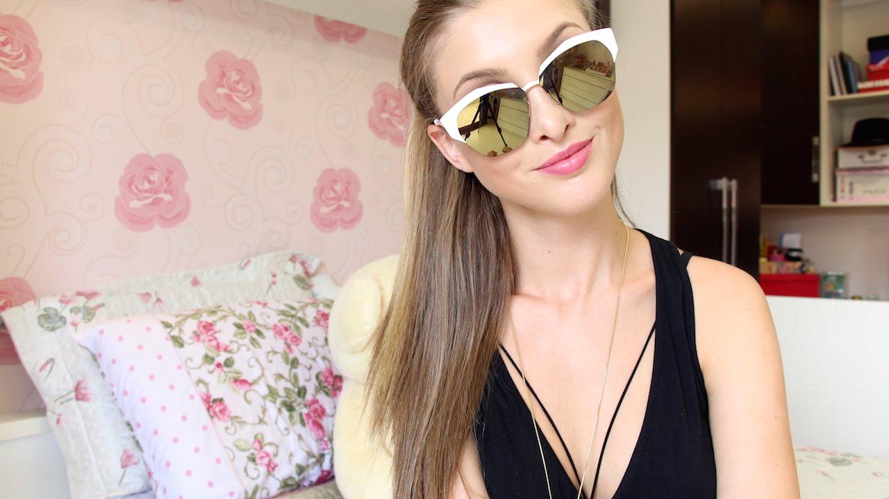 e17eddd7a Meus Óculos de Sol | Vanessa Wonsovicz - YouTube