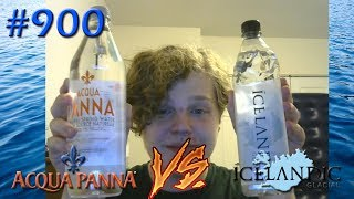 Connor Drinks Water #900 | Icelandic Glacial Spring Water VS Acqua Panna Spring Water