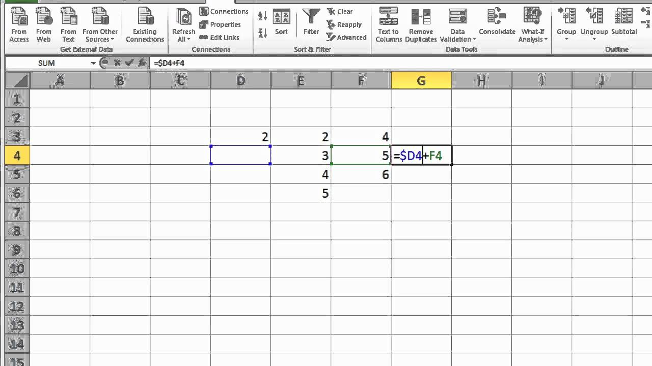 How to make an excel formula absolute - How To Make An Excel Formula Absolute 14