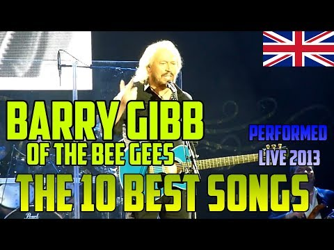 BARRY GIBB - on his first solo tour - the 10 best BEE GEES songs - LIVE in London O2 Arena, 2013