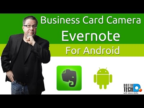 Evernote Business Card Scanner For Android Finally Youtube