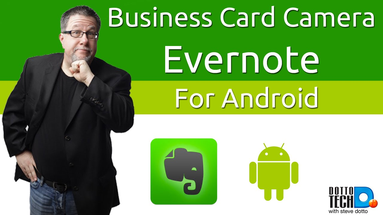 Evernote Business Card Scanner for Android - Finally! - YouTube
