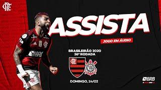 Flamengo x Corinthians AO VIVO na Fla TV   Brasileirão 2020