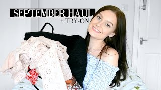 SEPTEMBER TRY-ON HAUL! SHEIN, PLT, ZARA & PRIMARK | Caitlin Rose