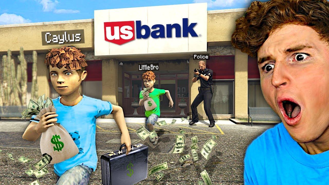 Robbing MEGA BANK As KIDS In GTA 5 RP.. (HARD)