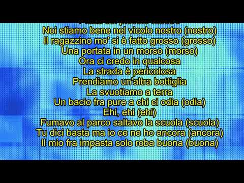 Emis Killa   SERIO karaoke  best version hd
