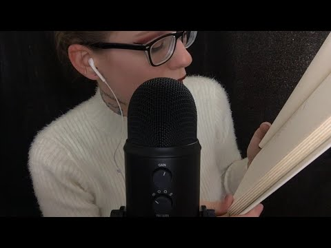 ASMR Reading You To SLEEP | With Famous POETRY (Binaural, Ea