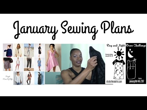 January 2017 Sewing Plans|RunningNStyle