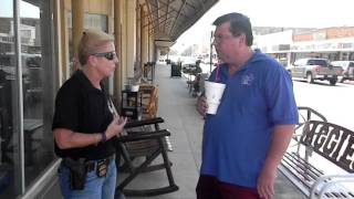 Mike Hanson Confronts BATF In Gonzales Texas October 1 2015