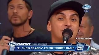 El Show De Andy- Fox Sports- 22-12-2017