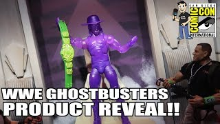 WWE Ghostbusters New Figures Revealed at  SDCC 2019