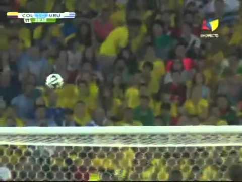 Colombia vs Uruguay [Mundial Brasil 2014] goles James Rodriguez