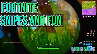 Fortnite Battle Royale | Snipes, Bugs, wins, fails!