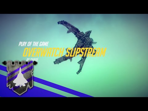 "Overwatch Tracer's Jet ""Slipstream"" - Play of the Game 