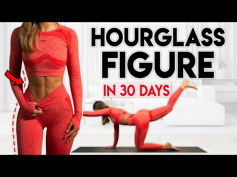 HOURGLASS FIGURE in 30 Days (full body) | 15 min Home Workout
