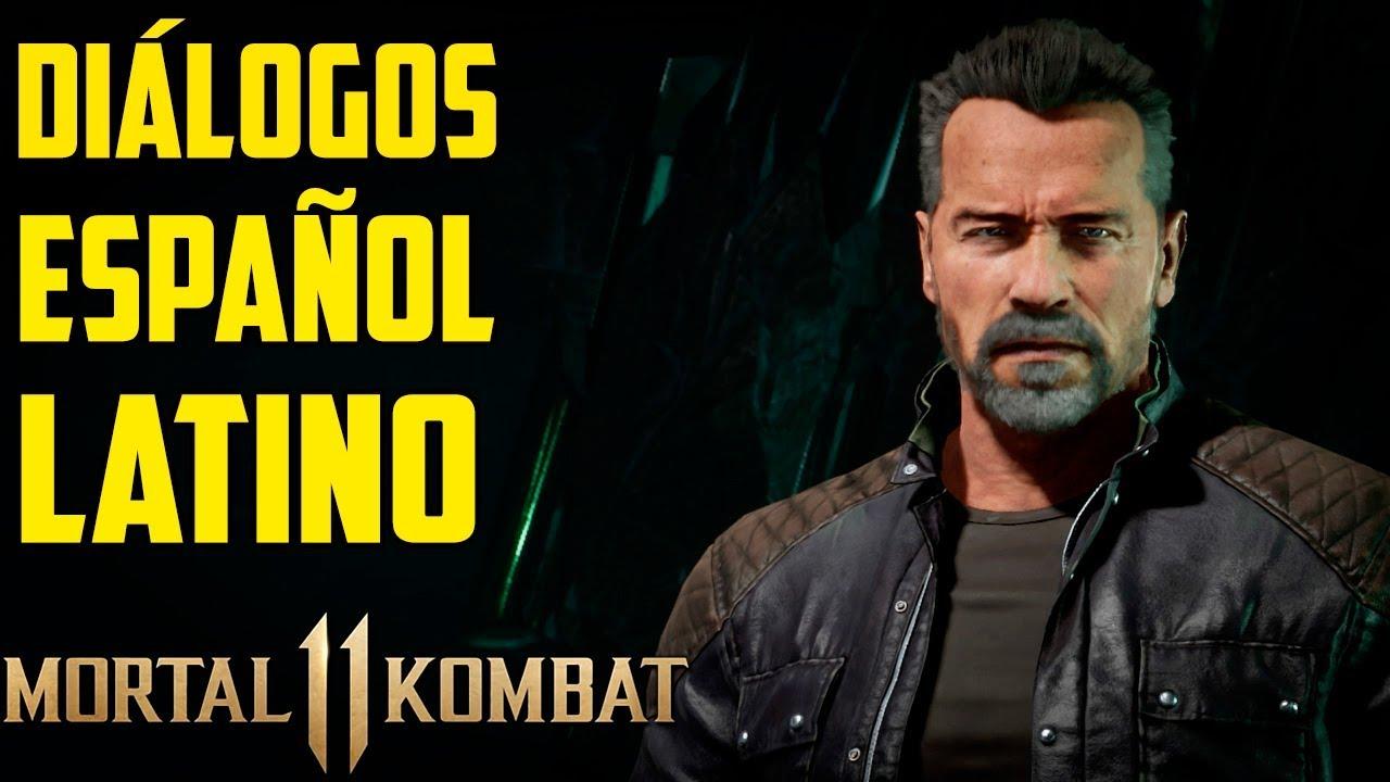 Mortal Kombat 11 | Español Latino | Todos los Diálogos | Terminator | Xbox One |