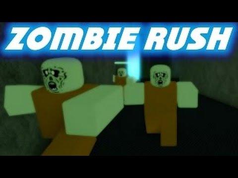 ROBLOX - Zombie Rush / Zombie Apocalypse!! - YouTube