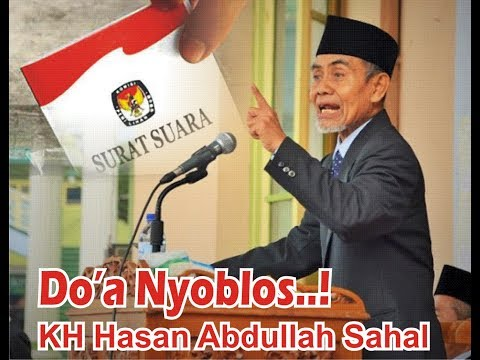 Lucu Doa Nyoblos Pemilu Pilkada -  KH Hasan Abdullah Sahal