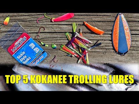 Top 5 Kokanee Trolling Lures