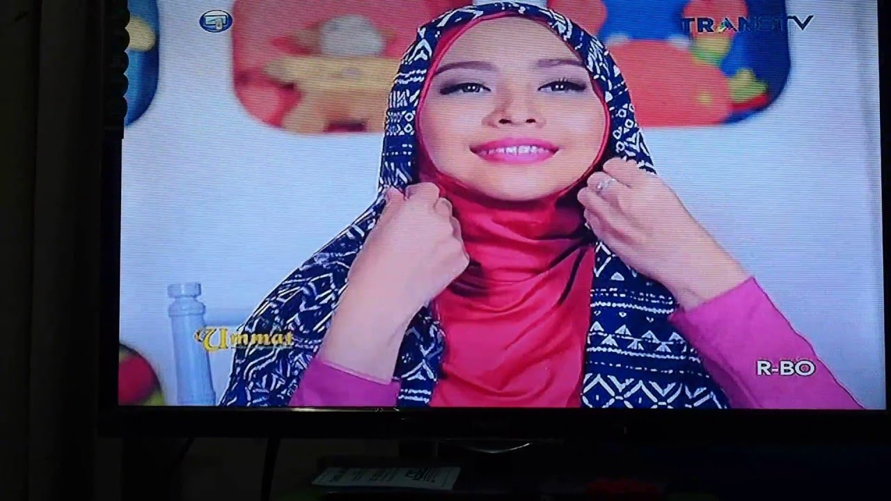 Tutorial Hijab UMMAT TransTV 22 02 2016 Wardrobe By Savannaid