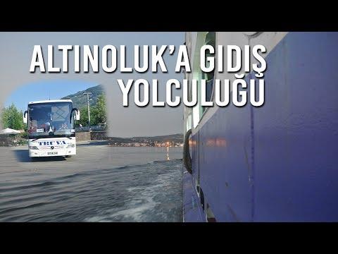 Altınoluk Tatil 1. Gün (Truva Turizm Yolculuk) - Vlog #11