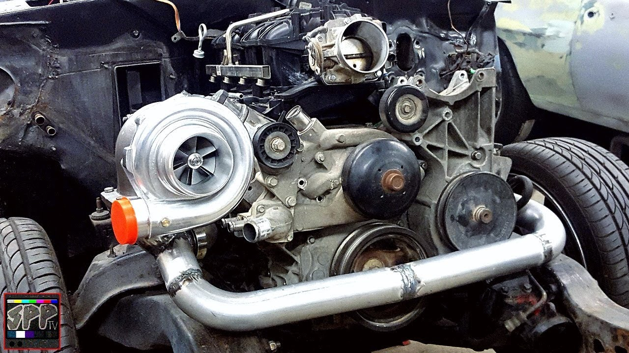 Turbo Mounted Hotside Nearly Complete Vs Racing 7875