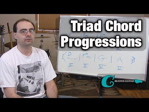 Transposing Triad Chord Progressions
