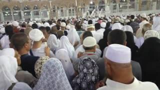 Tawaf at Kaaba in Mecca during 2017 Umrah.