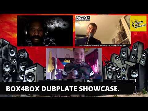 BOX4BOX DUBPLATE SHOWCASE MAGASH/KANABIS