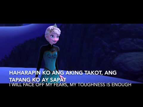 Frozen:Let it go -Tagalog version - S+T
