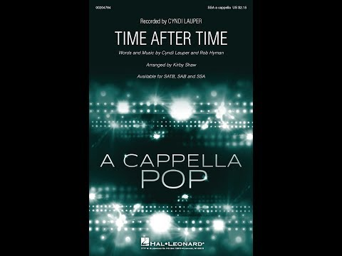 Time After Time (SSA) - Arranged by Kirby Shaw