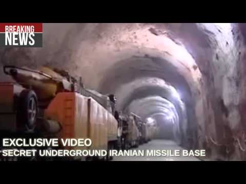 EXCLUSIVE VIDEO: SECRET UNDERGROUND IRANIAN MISSILE BASE REVEALED FOR THE FIRST TIME ON TV!!!