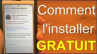 Comment installer iOS 11 GRATUITEMENT - Sans ordi / Compte développeur