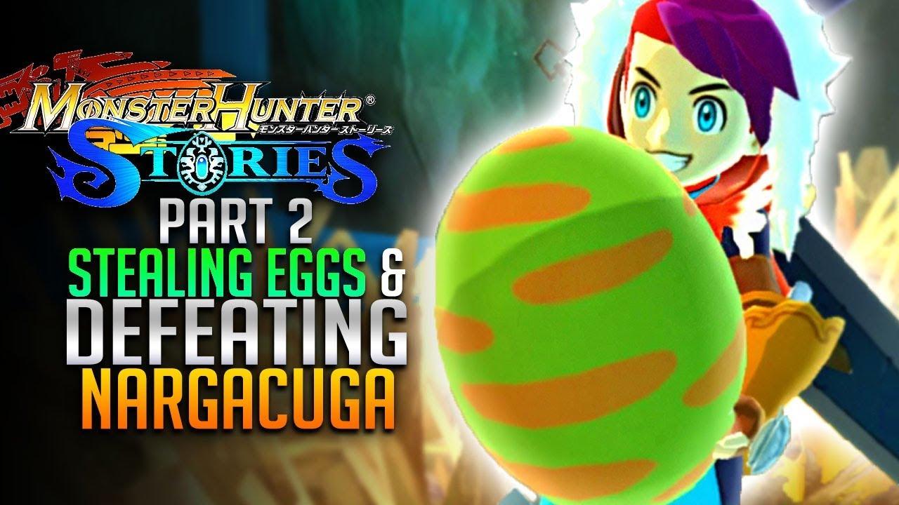 nargacuga monster hunter stories qr code eggs