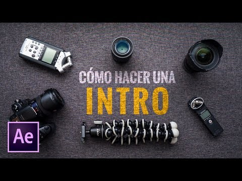 CÓMO HACER una INTRO || After Effects