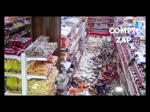 Earthquake iran, iraq on November 12 2017 caught on camera CCTV
