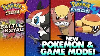 Pokémon Sun & Moon - PIKIPEK, YUNGOOS & GRUBBIN + BATTLE ROYAL Trailer Reaction - hi im twit