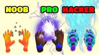 NOOB vs PRO vs HACKER - Elemental Master screenshot 2