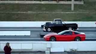 57 chevy pro truck vs chevy corvette