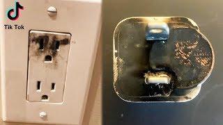DANGEROUS TikTok Penny Challenge Becomes Fire Hazard