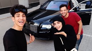 اشترينا روز رايز   we bought the Rolls-Royce !!