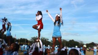 Raines And Ribault Varsity Cheer Leaders Last Year  2013