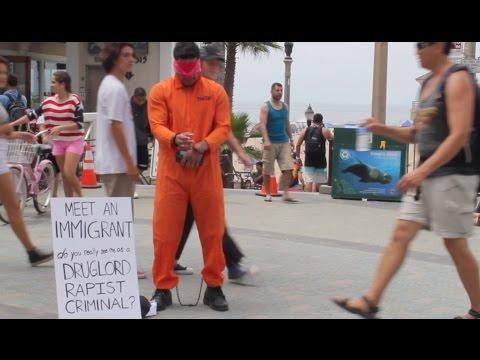 Meet an Immigrant Donald Trump Experiment