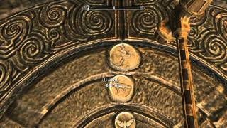 SKYRIM How To Solve Korvanjund Wall Door Puzzle Commentary + Tutorial