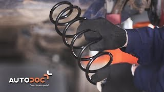 How to replace rear springs VW LUPO TUTORIAL | AUTODOC